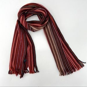 Altea Lana Wool Striped Scarf